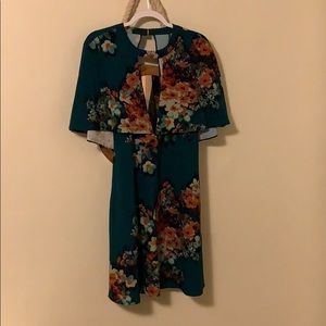 ABS Deep V dress